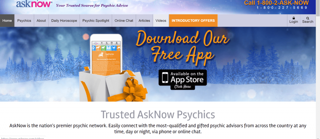 asknow psychic reading chat